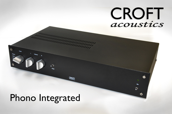 The new Croft RIAA phono stage